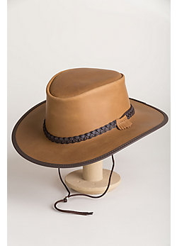 Bravo Leather Cowboy Hat