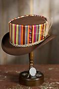 Steampunk Julep Suede Leather Hat