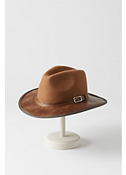 Summit Wool Felt and Leather Safari Hat
