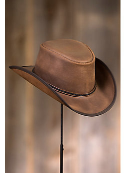 Reno Western Leather Hat