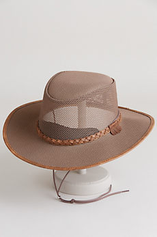 Soaker Crushable Mesh Breezer Panama Hat