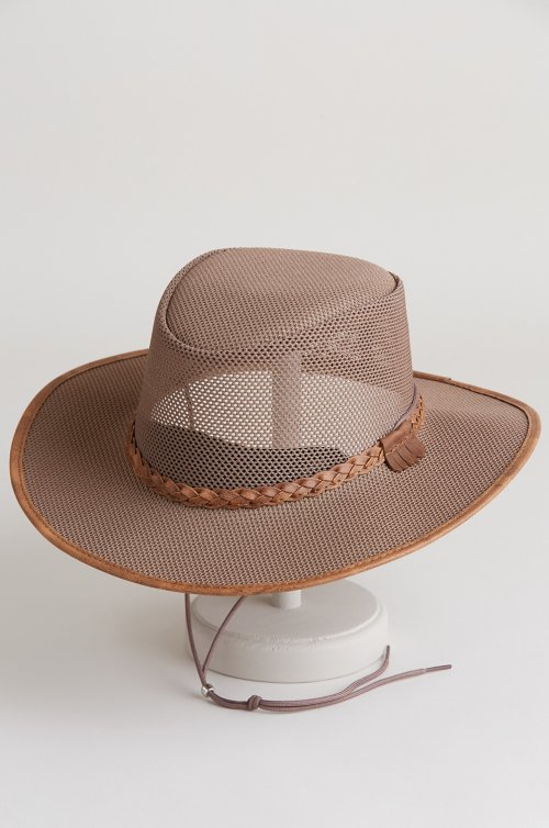 Soaker Crushable Mesh Breezer Western Hat