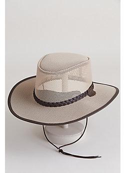 Soaker Crushable Mesh Breezer Panama Hat