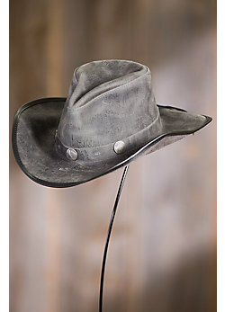 Cyclone Leather Hat