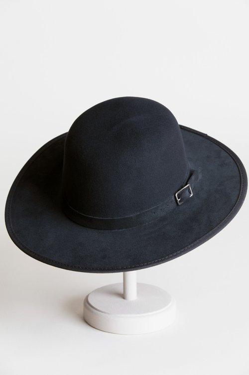 aec2c27e18021 Leslie Wool Felt Western Bowler Hat