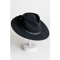 Bushwick Wool Felt Western Fedora Hat
