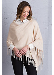 Lucille Cashmere Poncho