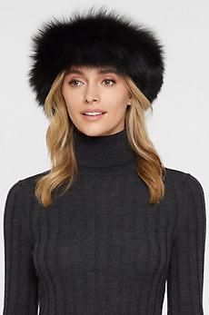 Finn Fox Fur Convertible Headband and Neck Warmer