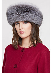 Finn Fox Fur Convertible Headband and Neck Warmer