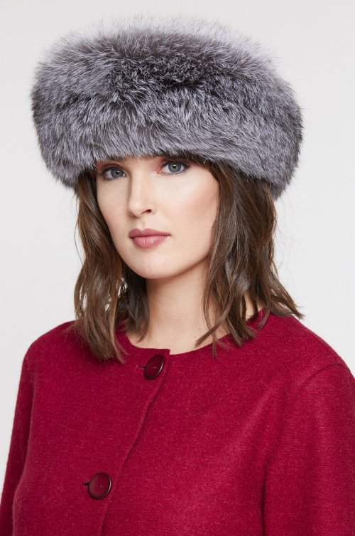 Finnish Fox Fur Convertible Headband and Neck Warmer cff406ae97d