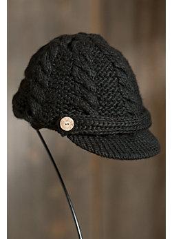Women's Knit Wool Equestrian Hat with Fleece Lining