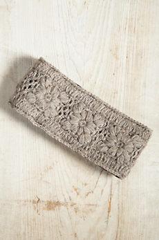 Handmade Crocheted Floral Wool Headband