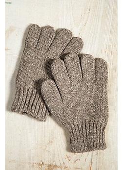 Women's Fleece-Lined Wool Gloves