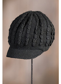 Knit Jockey New Zealand Wool Schoolboy Cap