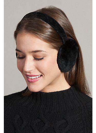 Canadian Sheared Beaver Fur Earmuffs