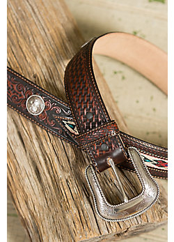 Cherokee Tracker Leather Belt
