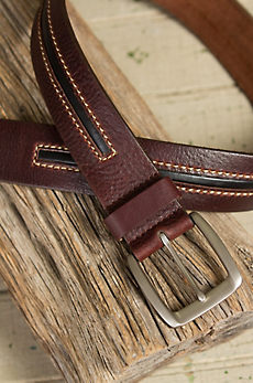 Wilkes Two-Tone Leather Belt