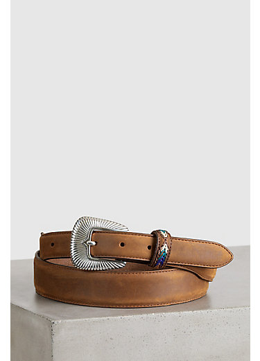 Bark DeColores Leather Belt