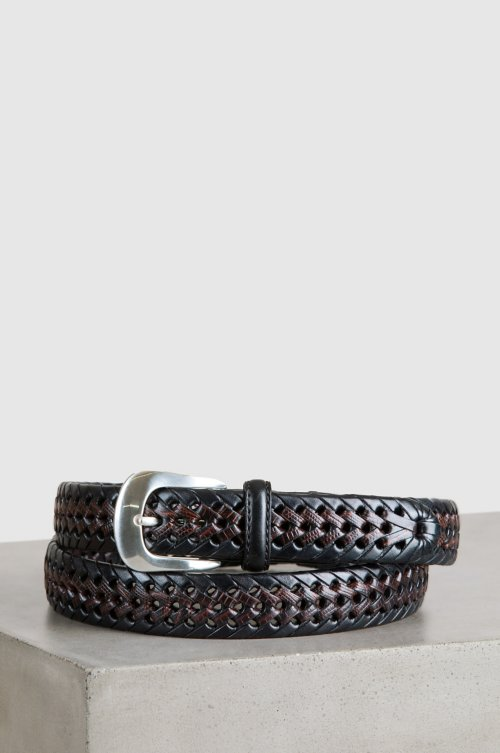 Burma Laced Leather Belt