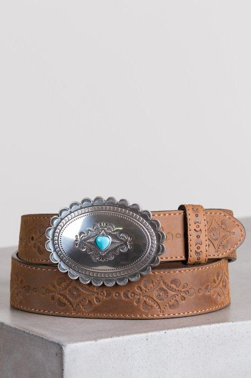 Navajo Heart Leather...
