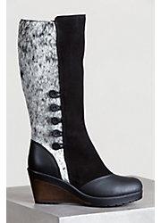 Women's Maria Cowhide Gripper-Sole Boots