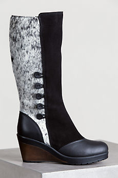 Women's Maria Cowhide Leather Gripper-Sole Boots