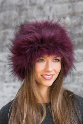 2-in-1 Fox Fur Headband or Neck Warmer