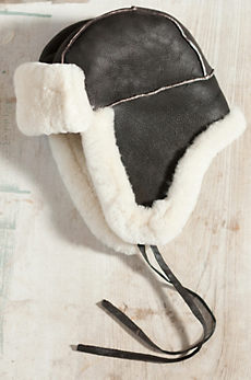 B-3 Sheepskin Aviator Hat