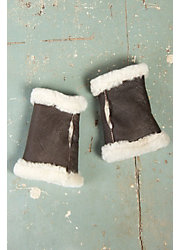 B-3 Sheepskin Fingerless Gloves