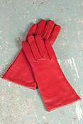 Women's Melody Sensor Touch Lambskin Leather Gloves