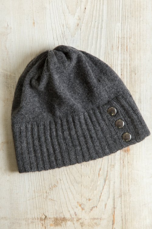 Seafarer Cashmere Beanie Hat