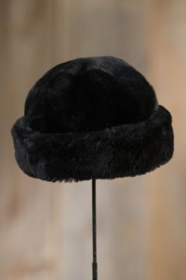 Mouton Shearling Sheepskin Cossack Hat