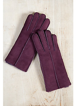 Women's Spanish Merino Sheepskin Gloves
