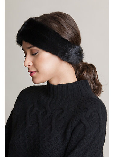 Danish Mink Fur Headband