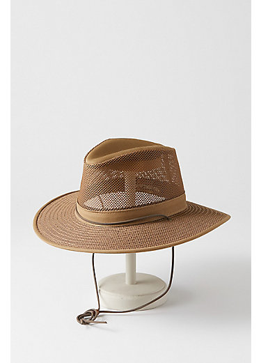 Crushable Aussie Mesh Breezer Safari Hat