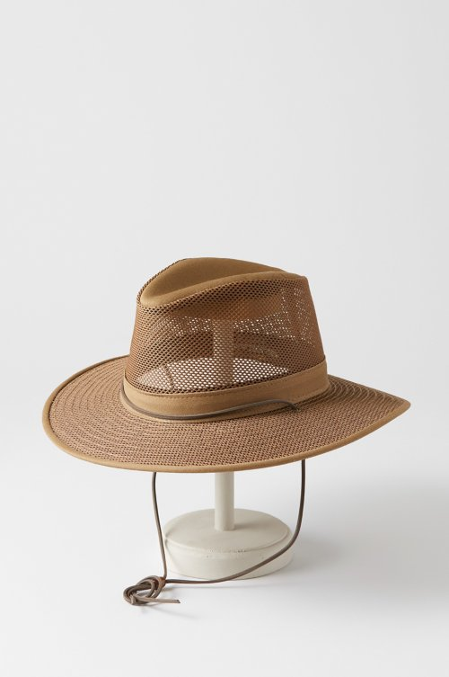 Crushable Aussie Mesh Breezer Safari Hat e1e72c600f59