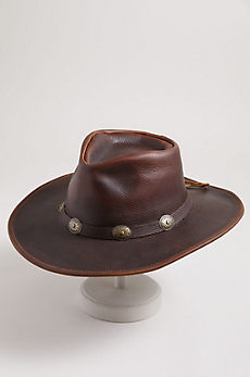Raging Bull Leather Cowboy Hat