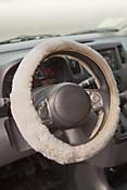 Sheepskin Steering Wheel Cover