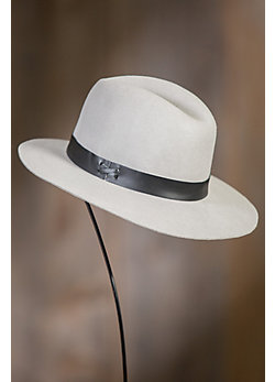 Original Medium Brim Wool Felt Fedora Hat