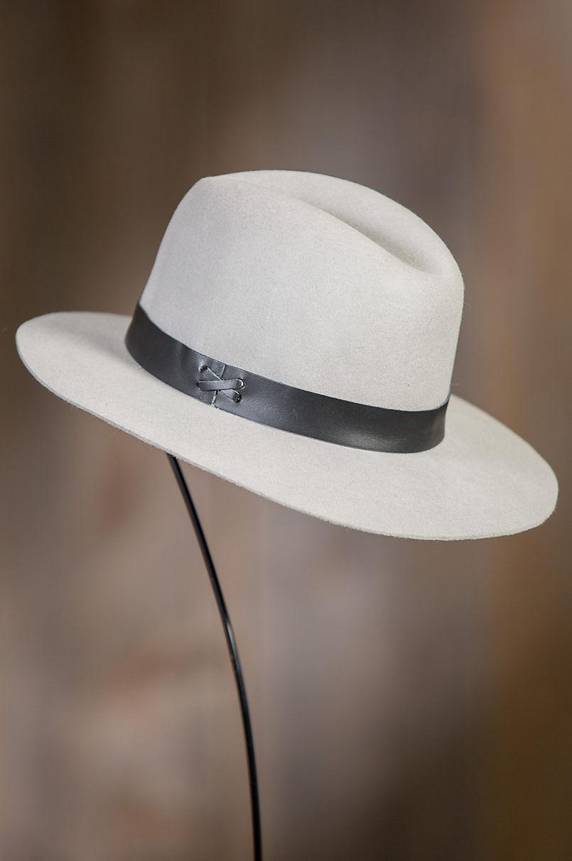 168852ad8 Original Medium Brim Wool Felt Fedora Hat