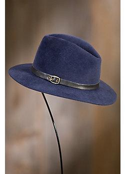 Luxe Classic Fur Felt Fedora Hat