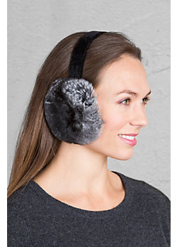 Chinchilla Fur Earmuffs