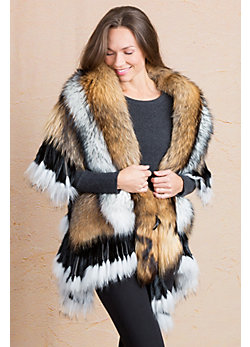 Petra Finn Raccoon Fur Wrap