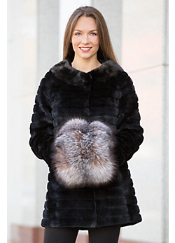 Canadian Fox Fur Hand Muff