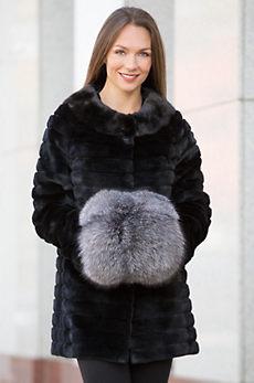 Canadian Fox Fur Hand Muff II