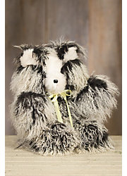Mongolian Lamb Fur Teddy Bear