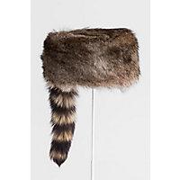 Steampunk Hats | Top Hats | Bowler Davey Crocket Raccoon Fur Cossack Hat $179.00 AT vintagedancer.com