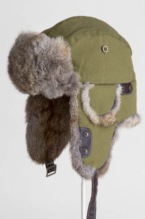 Canvas Trapper Hat...