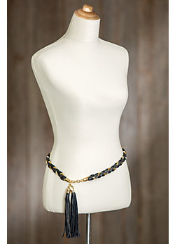 Sambi Braided Leather Belt