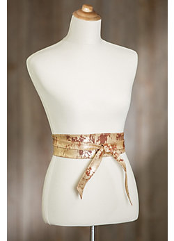 Nida Leather Wrap Belt